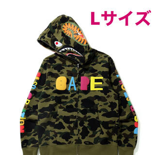 A BATHING APE - BAPE X READYMADE TIGER SHARK WIDE FULL L