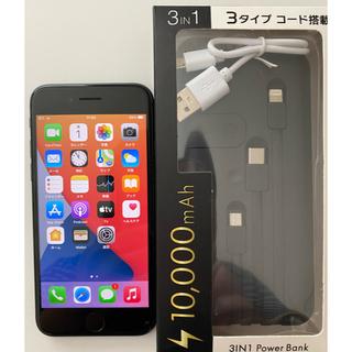 iPhone - iPhone8本体/美品/64GB/モバイルバッテリー付き