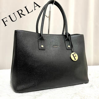 Furla - セール 正規品 FURLA リンダ サフィアーノレザー トートバッグ A4余裕