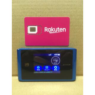 ラクテン(Rakuten)の楽天UN-LIMIT 設定済 SIMフリーWiFiルーター wx04 NAD34(スマートフォン本体)