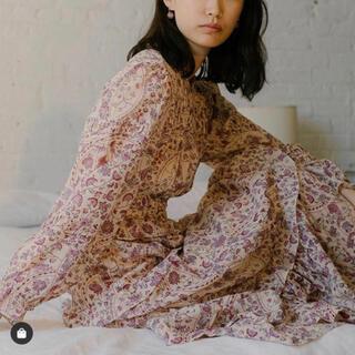 Isabel Marant - イザベルマランエトワール完売総柄刺繍マキシワンピース