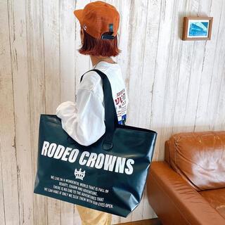 RODEO CROWNS WIDE BOWL - ロデオクラウンズ ノベルティ ターポリンビッグバッグ ブラック