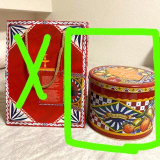 ドルチェアンドガッバーナ(DOLCE&GABBANA)のドルチェアンドガッパーナ 4月26日缶のみになりました。(ケース/ボックス)