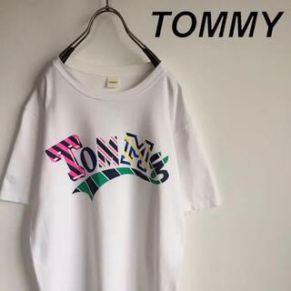 トミー(TOMMY)のTOMMY トミー ビッグロゴ Tシャツ(Tシャツ/カットソー(半袖/袖なし))