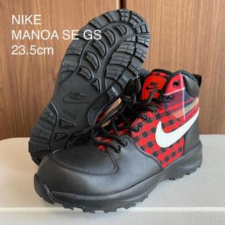 NIKE - 新品 NIKE MANOA SE GS ナイキ マノア チェック ブーツ