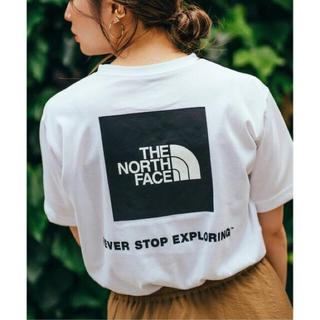 THE NORTH FACE - 美品◇ザ ノースフェイス S/S SQUARE LOGO TEE