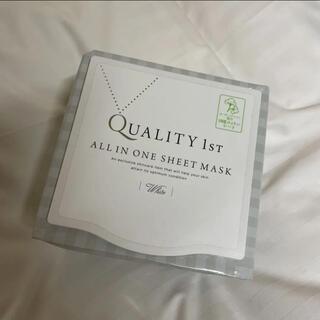 クオリティファースト(QUALITY FIRST)のクオリティファースト オールインワンシートマスク ホワイトEX 30枚(パック/フェイスマスク)