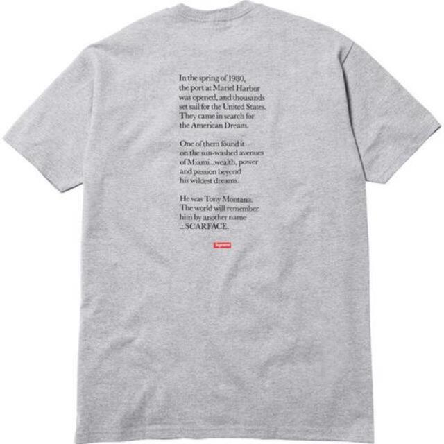 Supreme(シュプリーム)の本物 supreme Scarface tシャツ スウェット パーカー bag メンズのトップス(Tシャツ/カットソー(半袖/袖なし))の商品写真