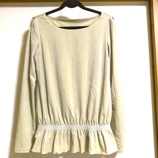 FOXEY - フォクシー美品 ベロア調 カットソーシャツ サイズ38