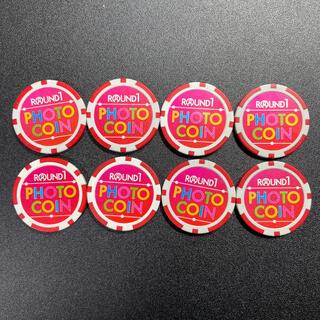ラウンドワン フォトコイン 8枚セット(ボウリング場)