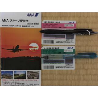 ANA飛行機優待券+グループ優待券(その他)