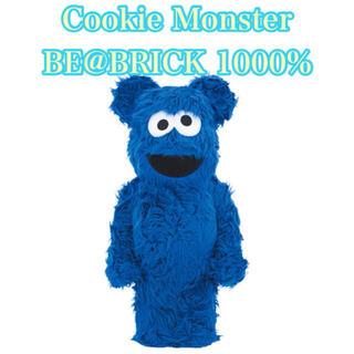 メディコムトイ(MEDICOM TOY)の be@rbrick Cookie monster ベアブリック 1000%(その他)