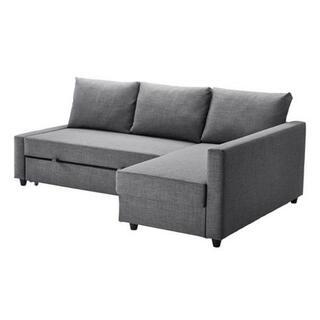 イケア(IKEA)の【未使用に近い】IKEA FRIHETEN フリーヘーテン ソファベッド(ソファベッド)