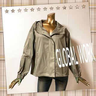 グローバルワーク(GLOBAL WORK)のGLOBAL WORK ♥ フード マウンテンパーカー ジャケット(ブルゾン)