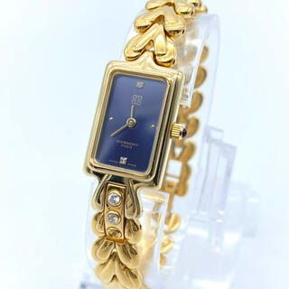 ジバンシィ(GIVENCHY)の新品電池 GIVENCHY ジバンシー 2Pダイヤ レディース腕時計(腕時計)