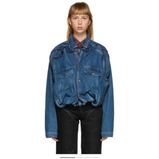 COMME des GARCONS - y/project pop up denim jacket