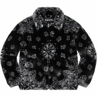 Supreme - M Supreme Bandana Faux Fur Bomber Jacket
