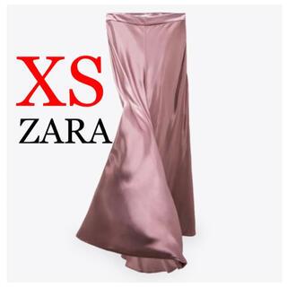 ZARA - 11 ZARA ザラ 新品 サテン地スカート XS