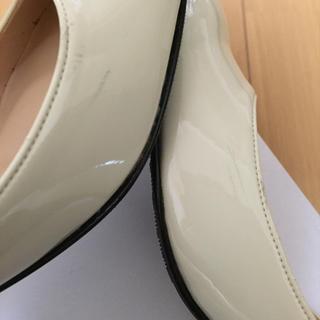 LAZY SWAN バイカラーパンプス レディースの靴/シューズ(ハイヒール/パンプス)の