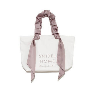snidel - SNIDEL HOME オーガニックキャンバスバッグ BIG モカ
