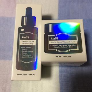 クレアス ビタミンドロップ 35ml ビタミンEマスク15ml
