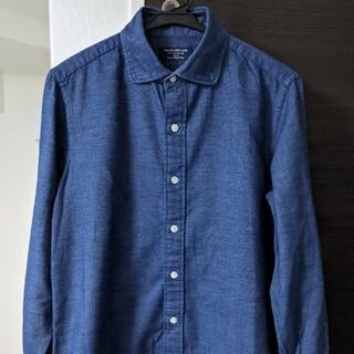 TOMORROWLAND - TOMORROWLAND シャツ ラウンドカラー デニム調 メンズシャツ