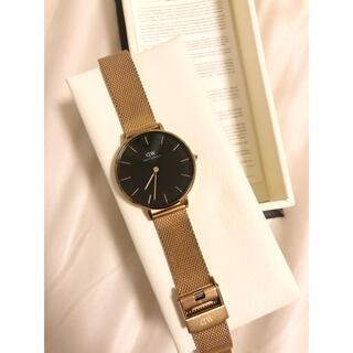 ダニエルウェリントン(Daniel Wellington)のダニエルウェリントン 腕時計 レディース PETITE MELROSE 32mm(腕時計)