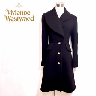 Vivienne Westwood - 美品 ヴィヴィアンウエストウッド 変形 襟 ロング コート