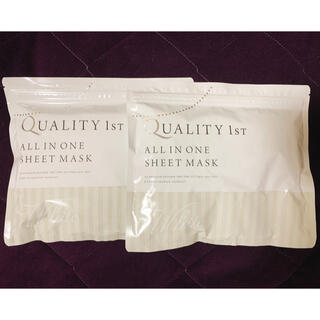 クオリティファースト(QUALITY FIRST)のクオリティーファースト 30枚入り×2袋(パック/フェイスマスク)