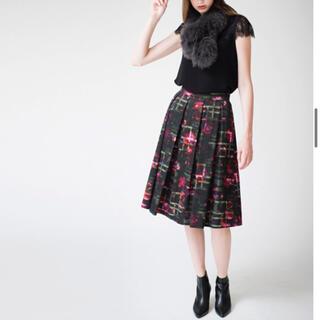 アナイ(ANAYI)のアナイ 花柄 スカート カタログ掲載(ひざ丈スカート)