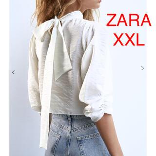 ZARA - ZARA ザラ オーガンザトップス ブラウス