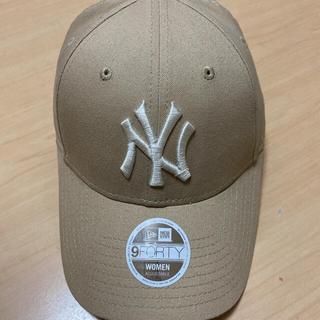 NEW ERA - ニューエラ キャップ 帽子 ベージュ