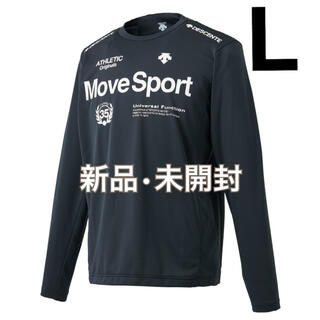 デサント(DESCENTE)の新品⭐︎move sports トレーニング 長袖シャツ デサント 黒 L(その他)