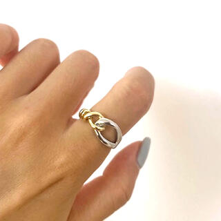 ZARA - リング 指輪 シルバーゴールド