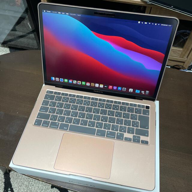 Apple(アップル)のMacBook Air M1 メモリ8G SSD256GB MGND3J/A スマホ/家電/カメラのPC/タブレット(ノートPC)の商品写真