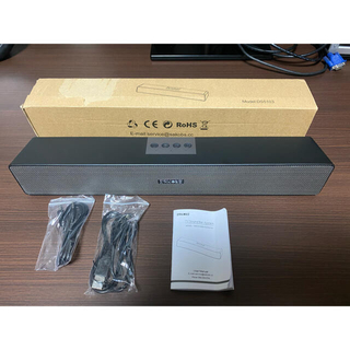 SAKOBS DS5103 マイク付き出力20Wサウンドバー