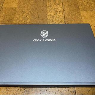 ゲーミングノートPC Galleria GCR2070RGF-QC