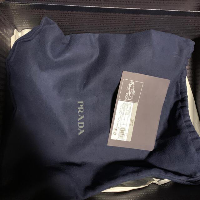 PRADA(プラダ)のPRADA ブラッシュドレザーxナイロン シューズ メンズの靴/シューズ(ドレス/ビジネス)の商品写真