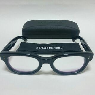 ネイバーフッド 伊達眼鏡 メガネめがね エフェクター 黒