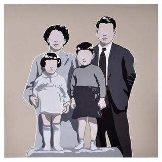 メディコムトイ(MEDICOM TOY)のAdriana Oliver シルクスクリーン Family アドリアナオリバー(版画)
