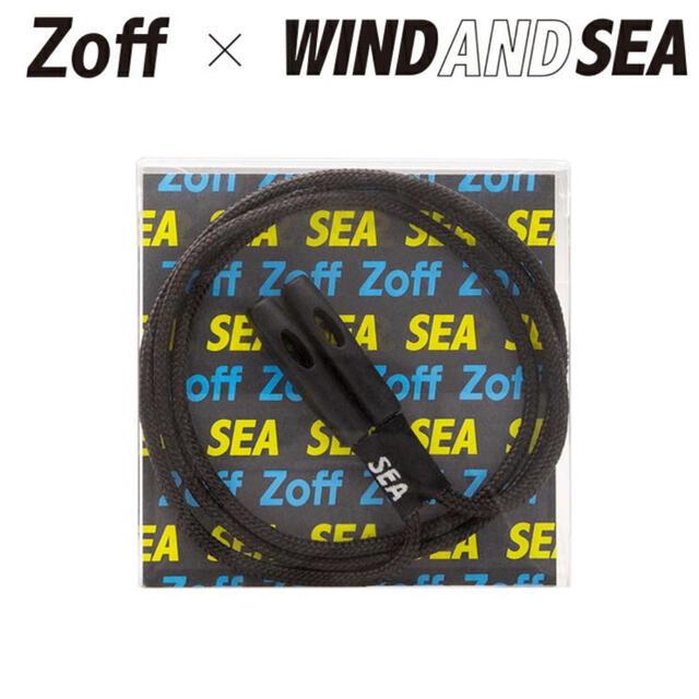 Zoff(ゾフ)のZOFF WIND AND SEA 2ND GLASS CORD BLACK  メンズのファッション小物(サングラス/メガネ)の商品写真