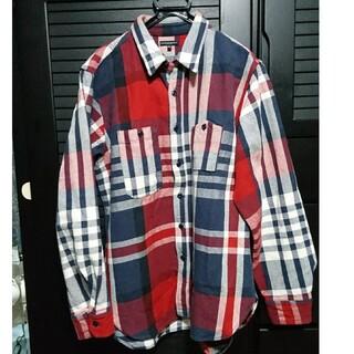 Engineered Garments - エンジニアードガーメンツ クレイジー チェック ネルシャツ XL