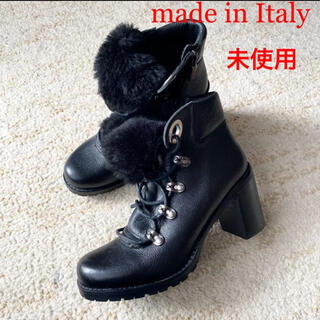 Salvatore Ferragamo - ★新品未使用★ イタリア製 インポート 革靴 高級婦人靴 ショートブーツ