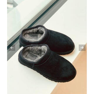 UGG - FRAMeWORK 【UGG】 CLASSIC SLIPPER 新品ブラック