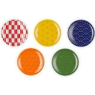 ルクルーゼ(LE CREUSET)のルクルーゼ ミニラウンドプレート 5枚セット ワガラコレクション(食器)
