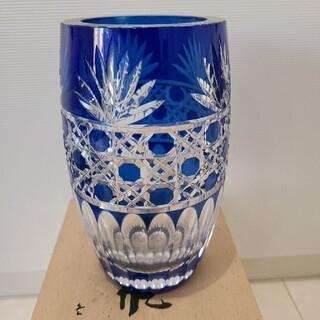 バカラ(Baccarat)のカガミクリスタル 花瓶(花瓶)