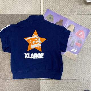 XLARGE - 【xlarge  kids】ハーフジップトレーナー 130
