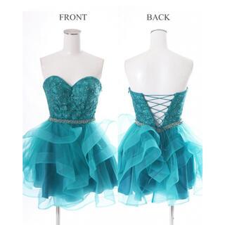 エンジェルアール(AngelR)のLip Line リップライン フラワー刺繍ビジュードレス(ナイトドレス)