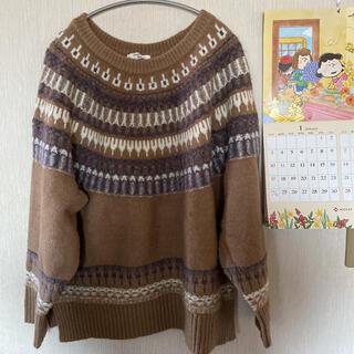 SM2 - サマンサモスモスブルー*セーター