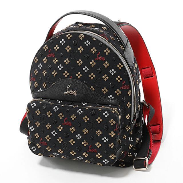 Christian Louboutin(クリスチャンルブタン)のChristian Louboutin♡ラメ糸刺繍 バックパック レディースのバッグ(リュック/バックパック)の商品写真